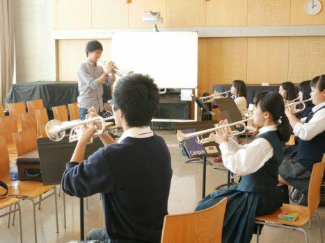 吹奏楽指導