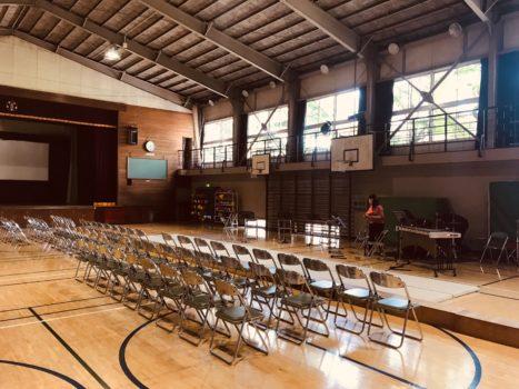 北区立柳田小学校でのスクールコンサート