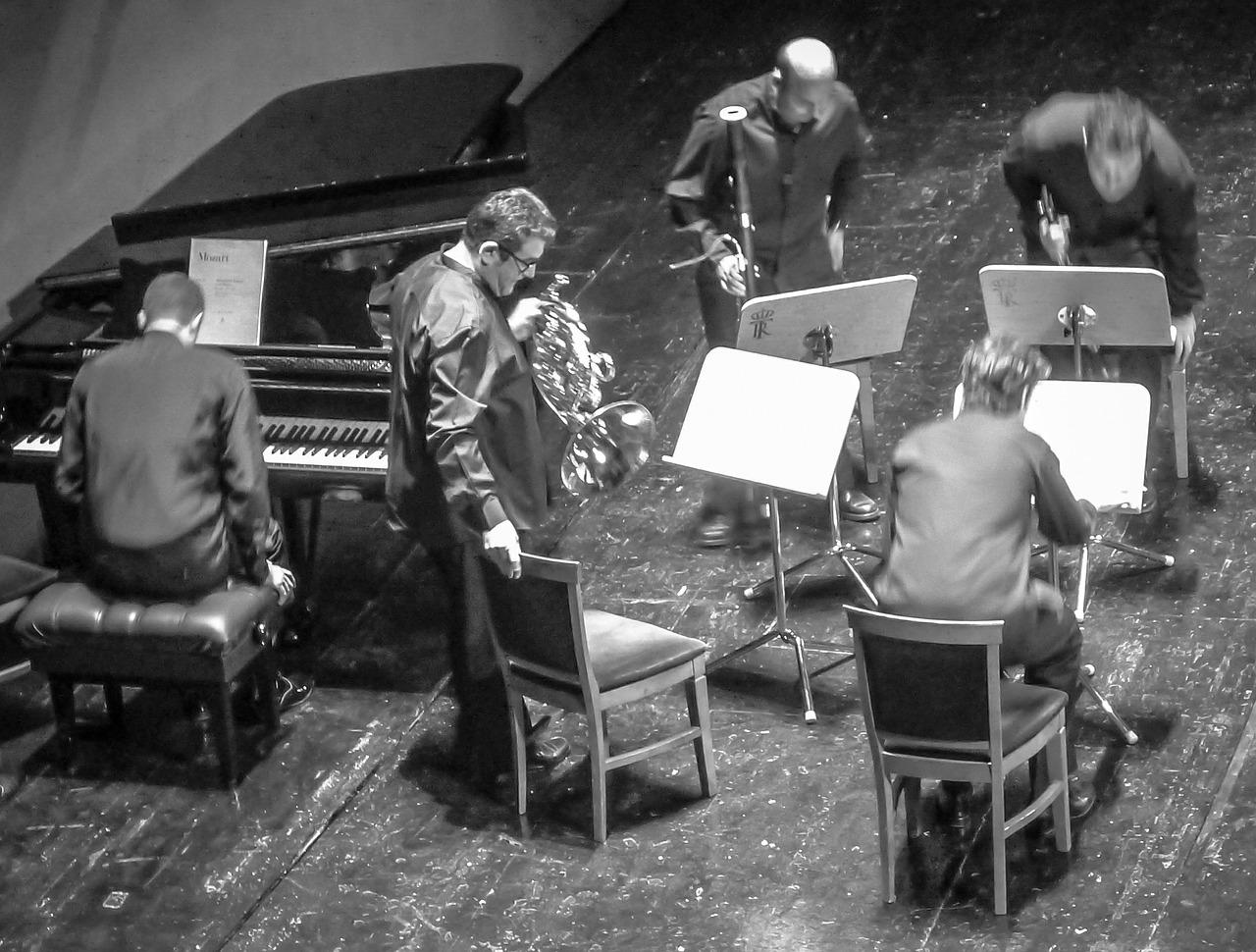 吹奏楽における「アンサンブル」の一般的な編成11種類