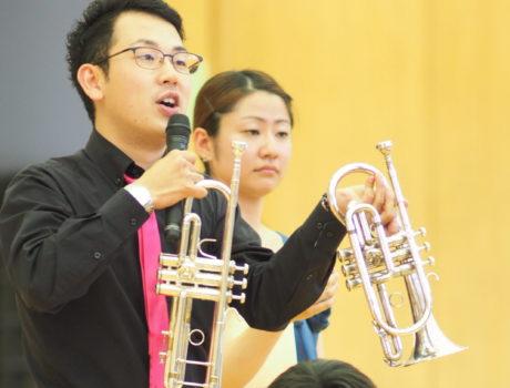 小学校での音楽鑑賞教室を「体験」にするために